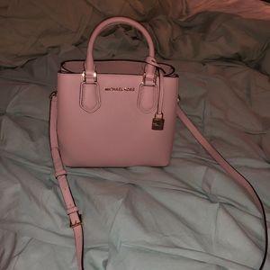 pink Michael Kors handbag